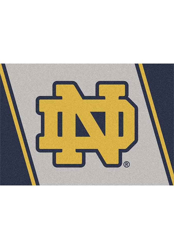 Notre Dame Fighting Irish 2x3 Spirit Interior Rug - Image 2
