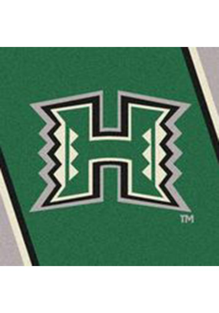 Hawaii Warriors 3x5 Spirit Interior Rug - Image 2