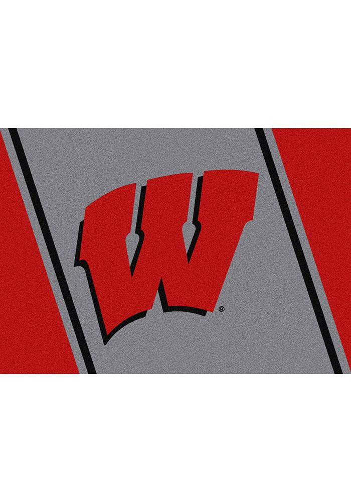 Wisconsin Badgers 3x5 Spirit Interior Rug - Image 2