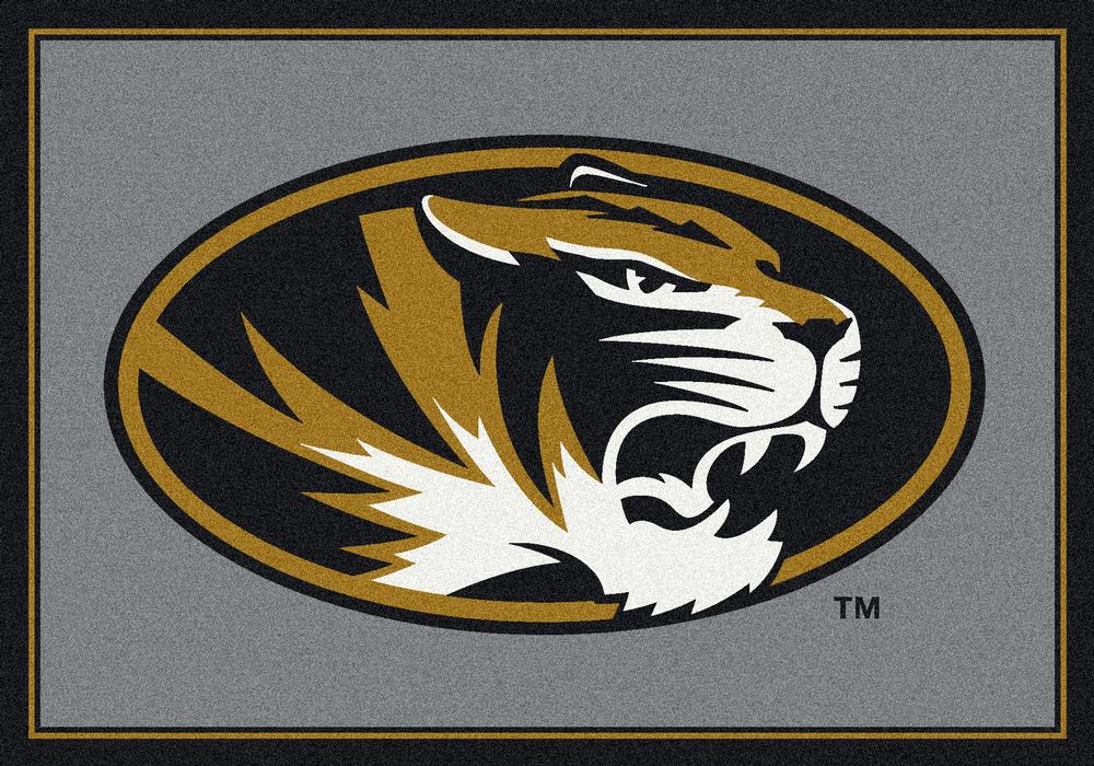 Missouri Tigers 5x7 Spirit Interior Rug - Image 2