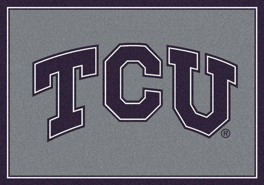 TCU Horned Frogs 5x7 Spirit Interior Rug - Image 2