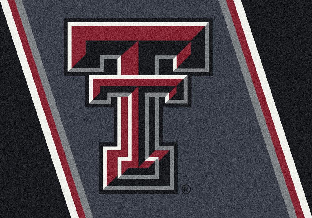 Texas Tech Red Raiders 5x7 Spirit Interior Rug - Image 2