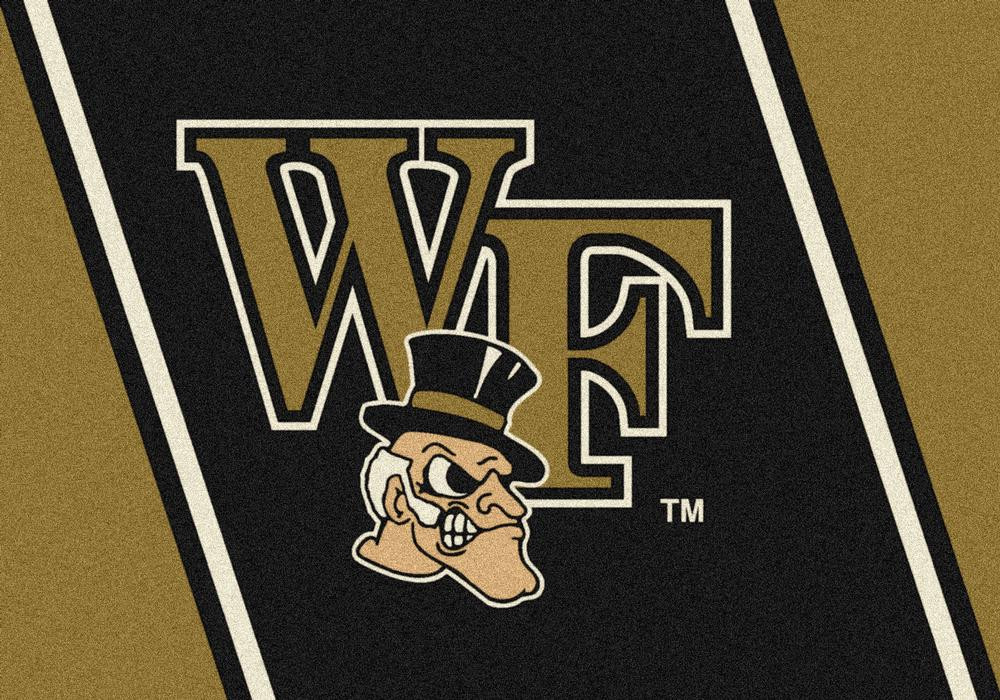 Wake Forest Demon Deacons 5x7 Spirit Interior Rug - Image 2