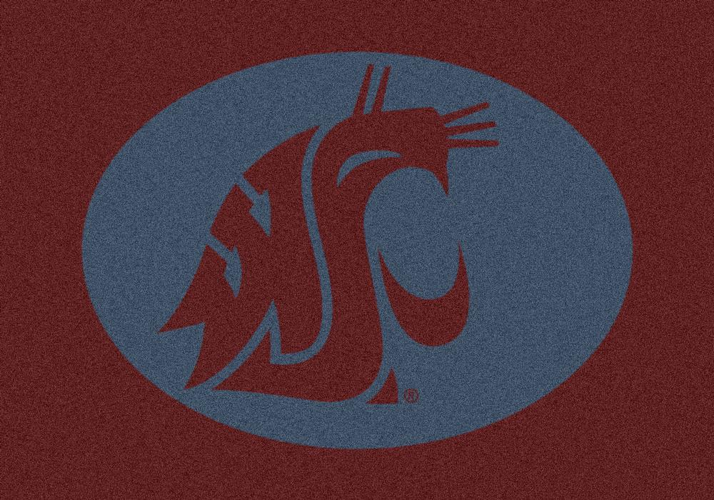 Washington State Cougars 5x7 Spirit Interior Rug - Image 2