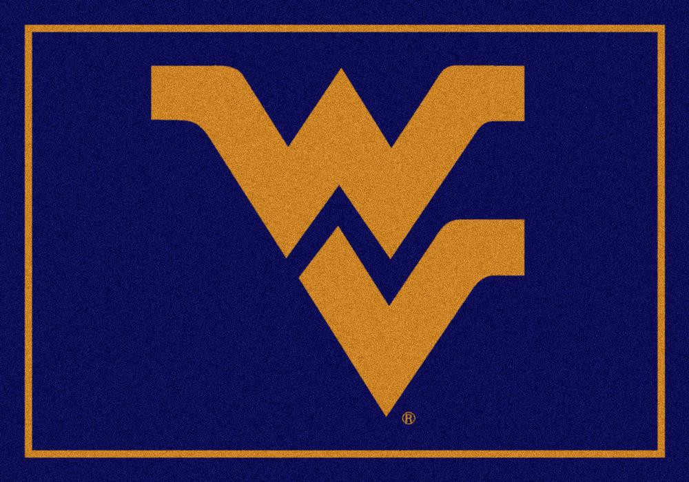 West Virginia Mountaineers 5x7 Spirit Interior Rug - Image 2