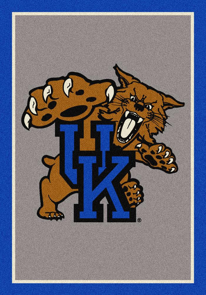 Kentucky Wildcats 7x10 Spirit Interior Rug - Image 2