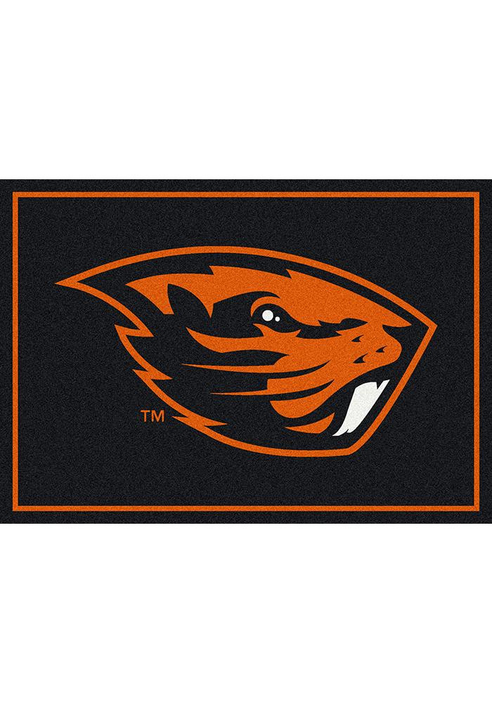Oregon State Beavers 7x10 Spirit Interior Rug - Image 2