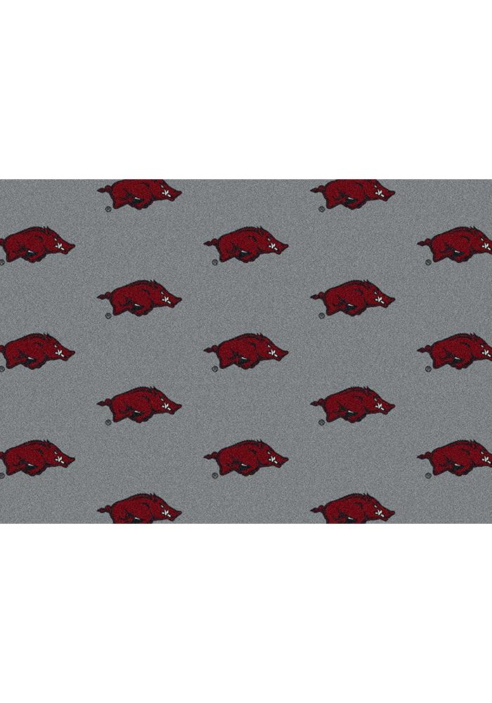 Arkansas Razorbacks 3x5 Repeat Interior Rug - Image 2