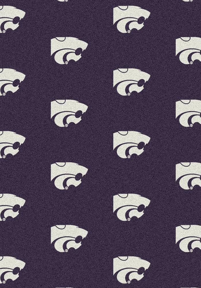 K-State Wildcats 3x5 Repeat Interior Rug - Image 2