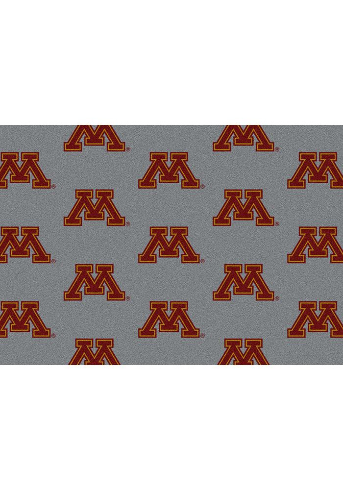 Minnesota Golden Gophers 3x5 Repeat Interior Rug - Image 2