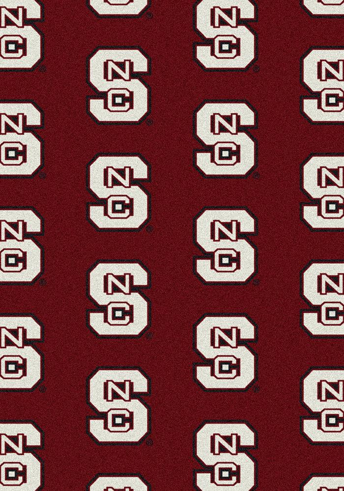 NC State Wolfpack 3x5 Repeat Interior Rug - Image 2