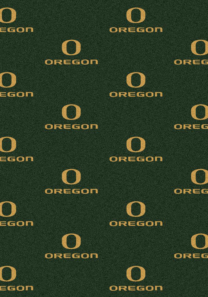 Oregon Ducks 3x5 Repeat Interior Rug - Image 1