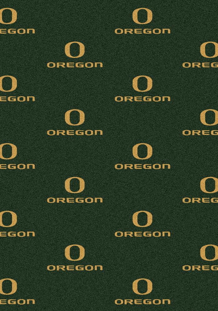 Oregon Ducks 3x5 Repeat Interior Rug - Image 2