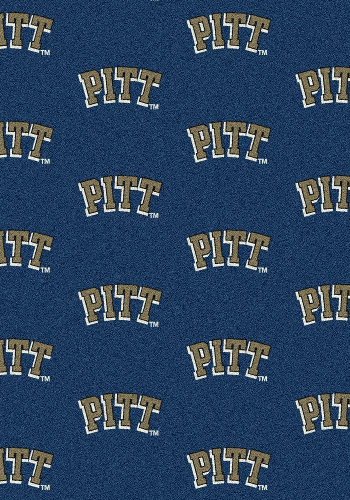 Pitt Panthers 3x5 Repeat Interior Rug - Image 2