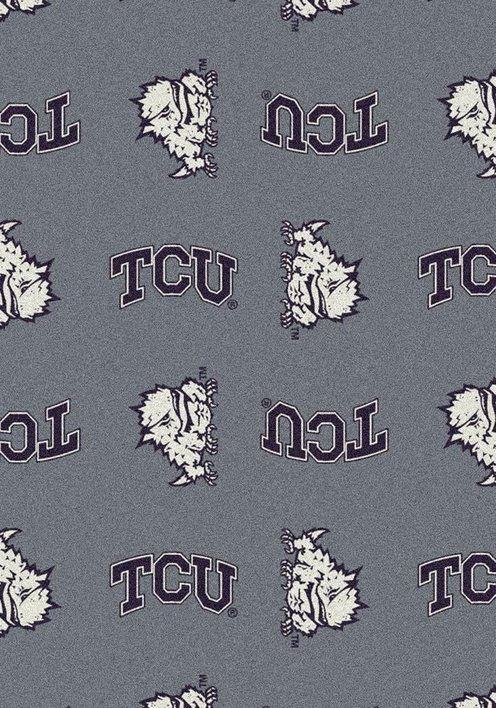 TCU Horned Frogs 3x5 Repeat Interior Rug - Image 2