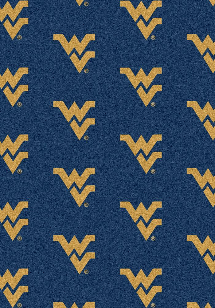 West Virginia Mountaineers 3x5 Repeat Interior Rug - Image 2