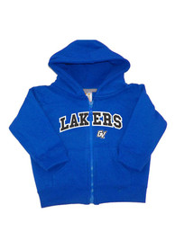 Grand Valley State Lakers Baby Arch Long Sleeve Full Zip Sweatshirt - Blue