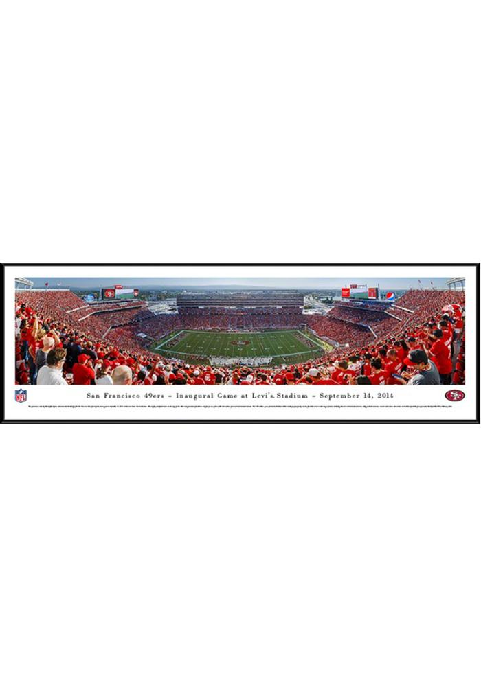 San Francisco 49ers Football Panorma Framed Posters