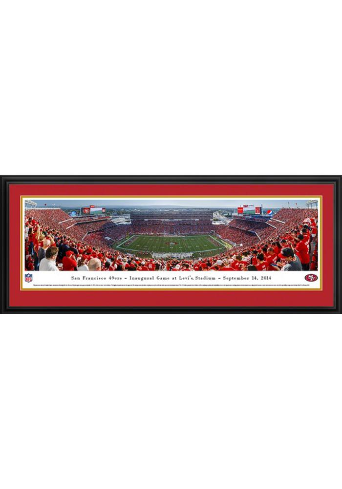 San Francisco 49ers Football Panorama Framed Posters - Image 1