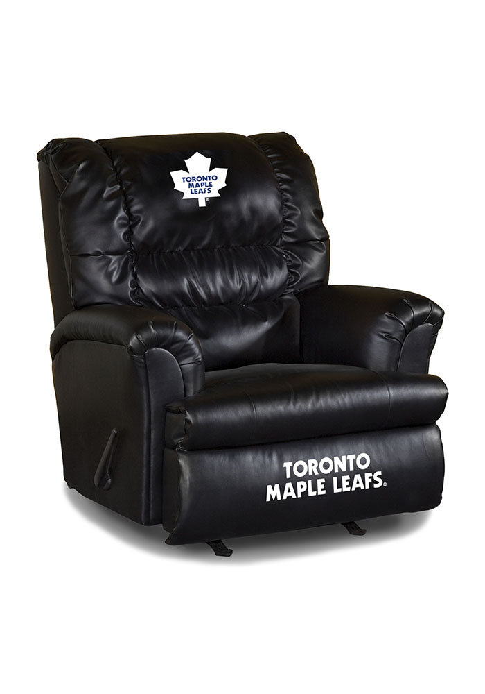 Toronto Maple Leafs Leather Big Daddy Recliner Recliner 1930085