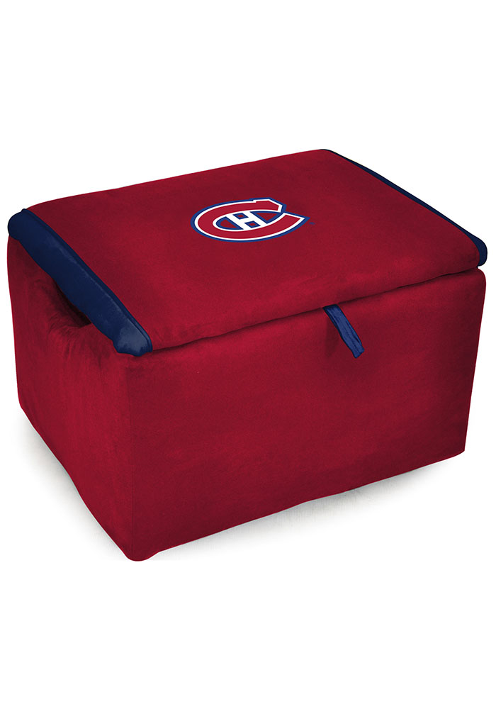 Montreal Canadiens STORAGE BENCH FAN FAV Laundry Hamper - Image 1