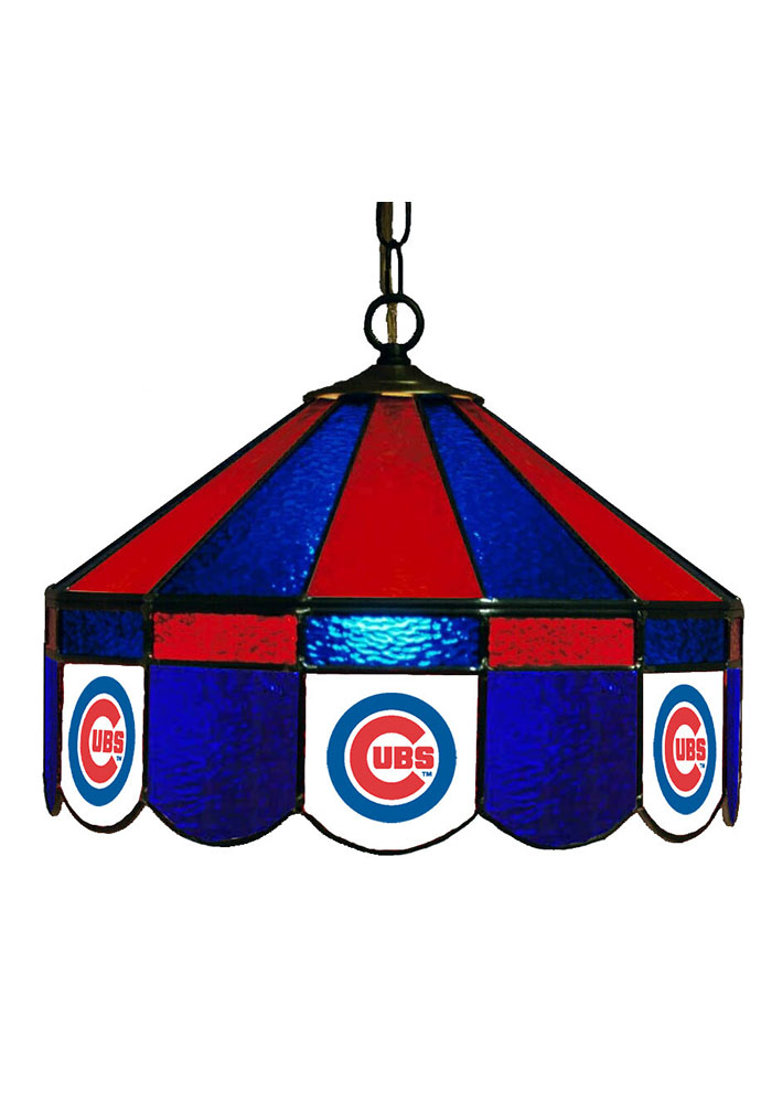 Chicago Cubs 14 Inch Stained Glass Pub Lamp 1930176