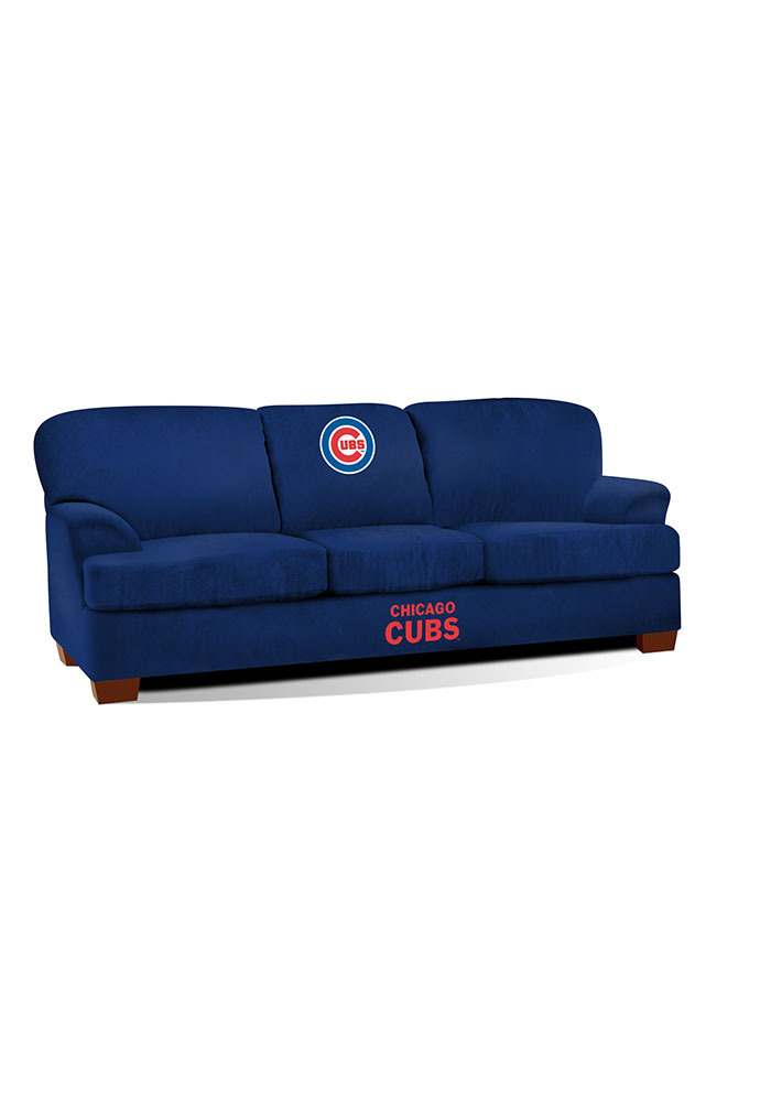 Chicago Cubs First Team Microfiber Sofa