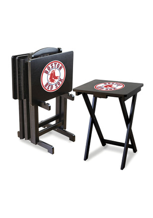 Boston Red Sox 4 Pack TV Tray Set