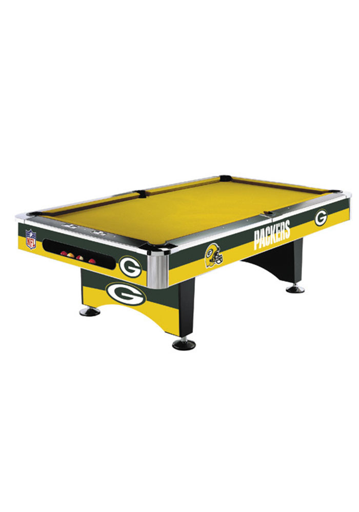 Green Bay Packers 8' POOL TABLE Pool Table - Image 1