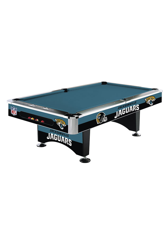 Jacksonville Jaguars 8' POOL TABLE Pool Table - Image 1