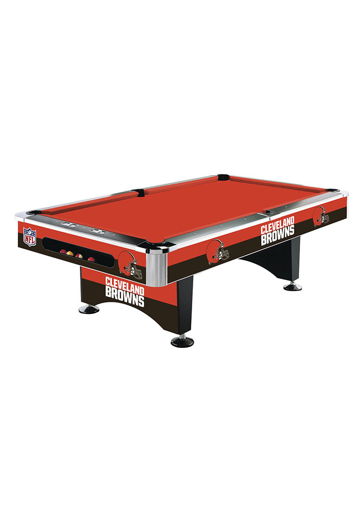 Cleveland Browns 8' POOL TABLE Pool Table - Image 1