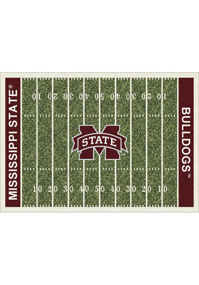 Mississippi State Bulldogs 5x7 Homefield Interior Rug - Image 1
