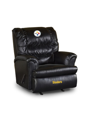 Pittsburgh Steelers Leather Big Daddy Recliner