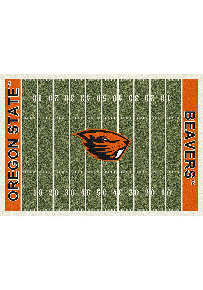 Oregon State Beavers 5x7 Homefield Interior Rug - Image 1