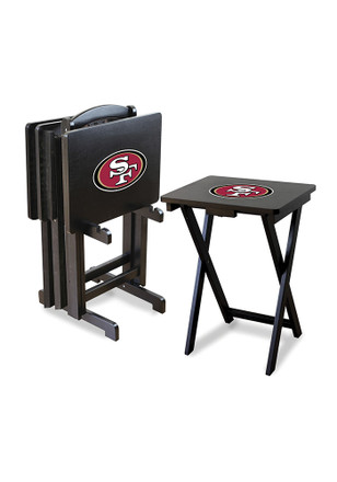 San Francisco 49ers 4 Pack TV Tray Set