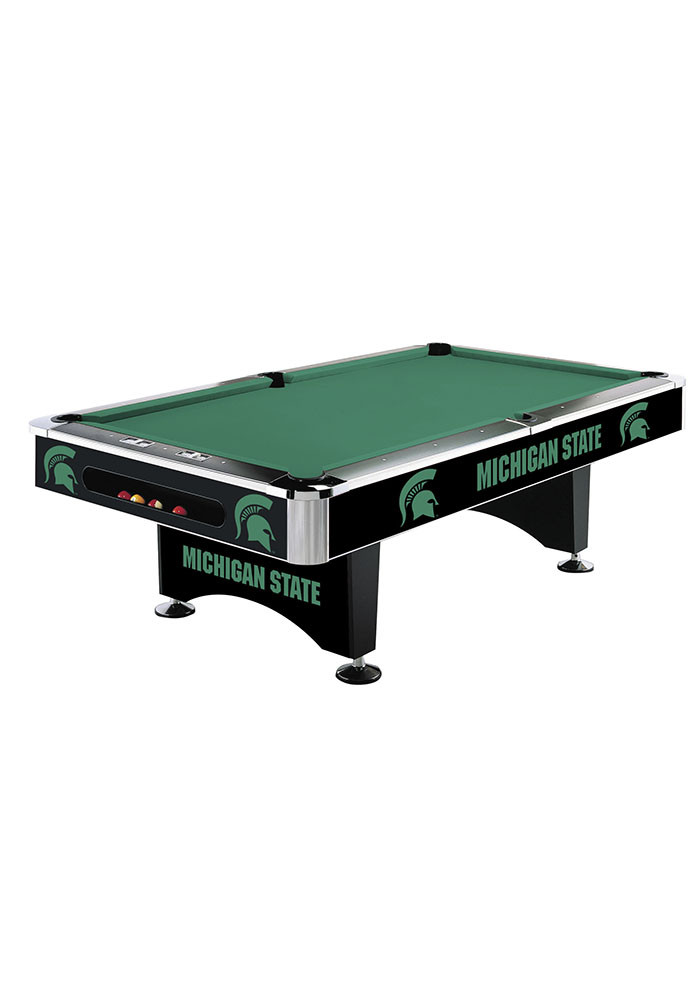 Michigan State Spartans 8' POOL TABLE Pool Table - Image 1