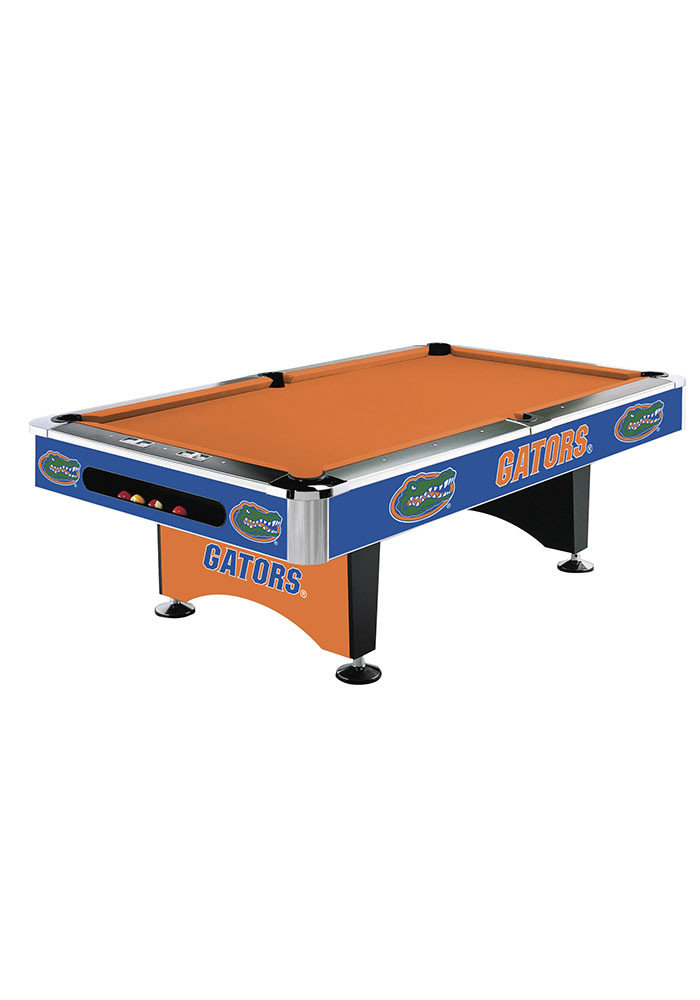 Florida Gators 8' POOL TABLE Pool Table - Image 1
