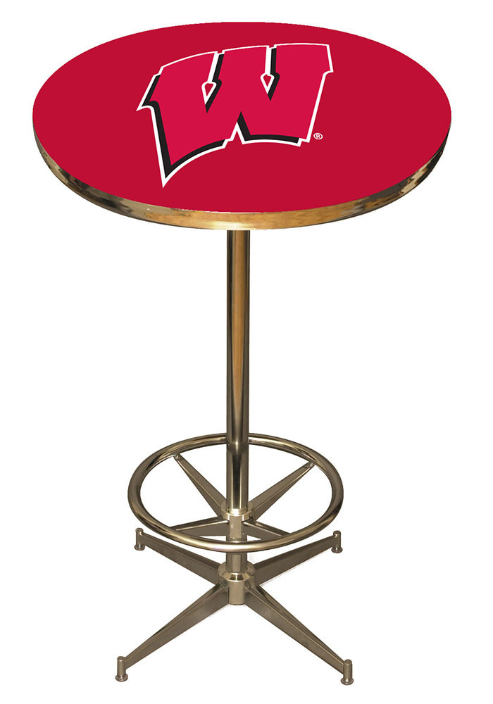 Wisconsin Badgers PUB TABLE Pub Table - Image 1