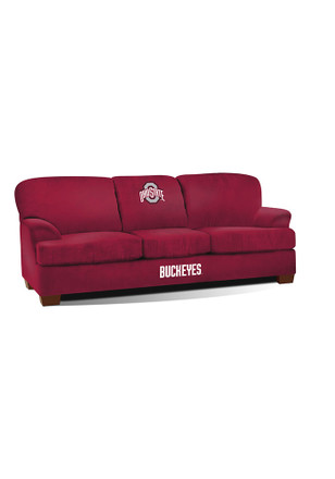 Ohio State Buckeyes FIRST TEAM SOFA Sofa