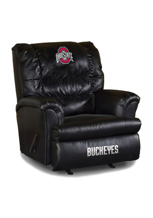 Ohio State Buckeyes Leather Big Daddy Recliner Recliner