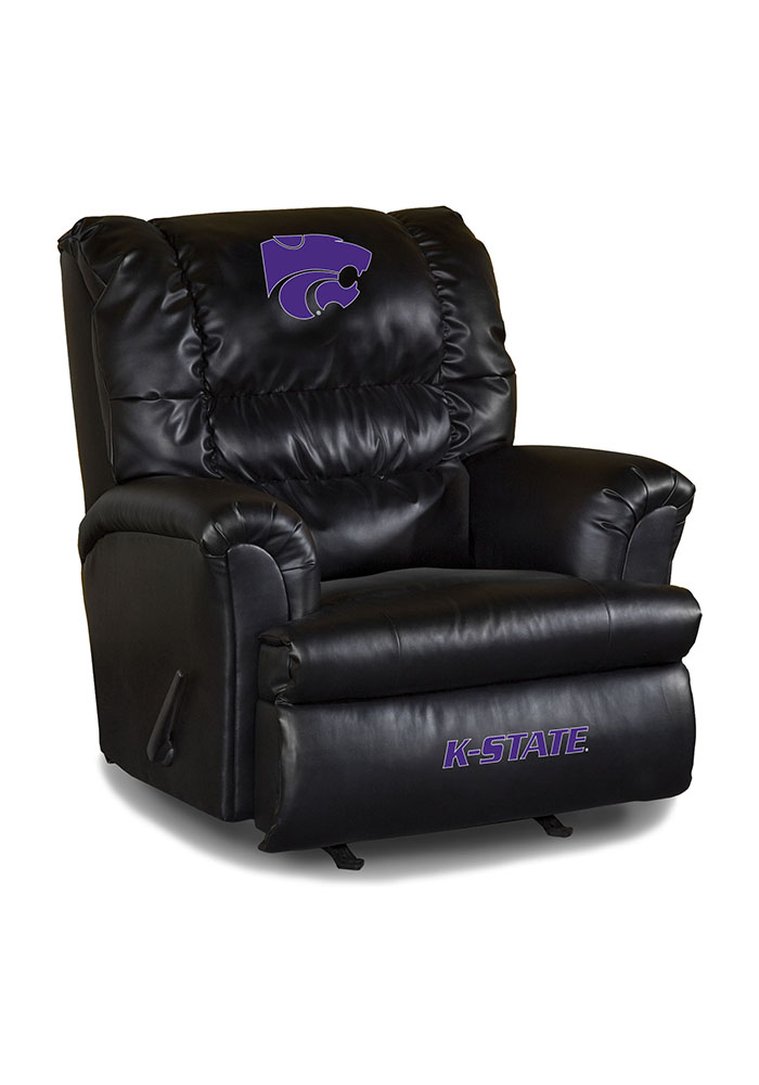 K-State Wildcats Leather Big Daddy Recliner 1931015