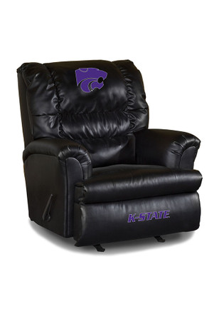 K-State Wildcats Leather Big Daddy Recliner