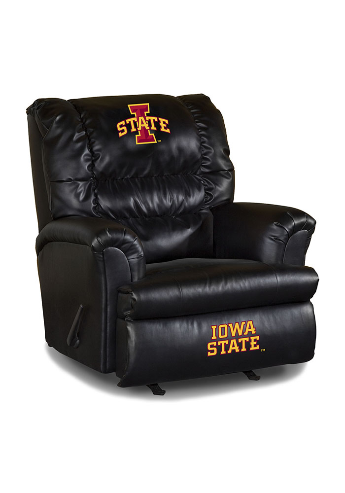 Iowa State Cyclones Leather Big Daddy Recliner 1931016