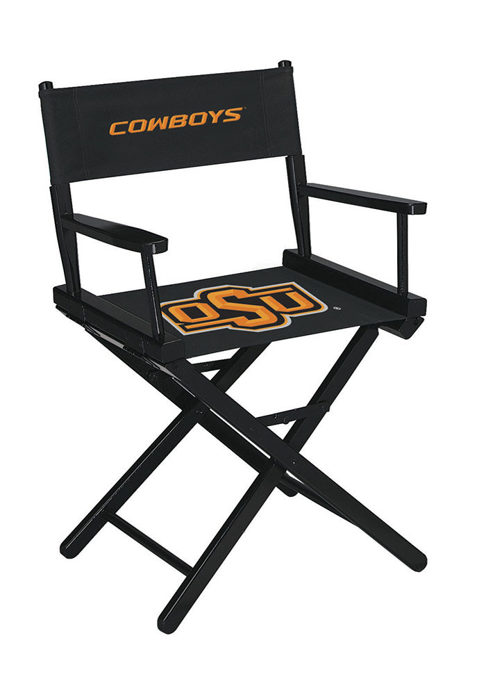 Oklahoma State Cowboys DIRECTORS CHAIR-TABLE HEIGHT Director's Chair - Image 1
