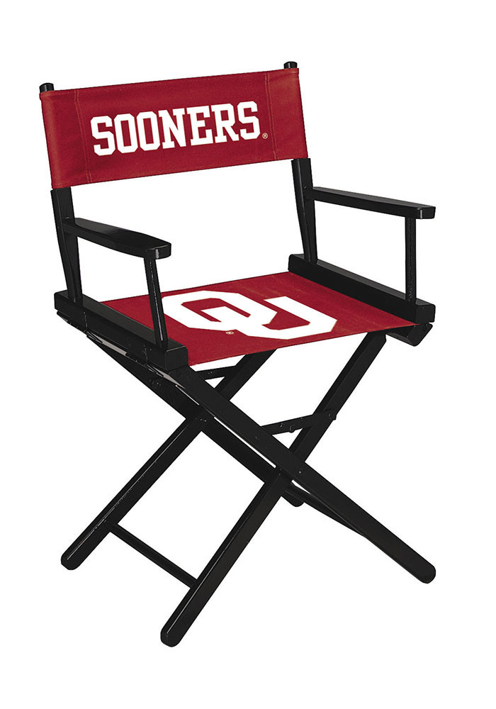 Oklahoma Sooners DIRECTORS CHAIR-TABLE HEIGHT Director's Chair - Image 1