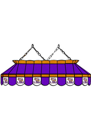 Shop lsu tigers fan cave lsu tigers 40 inch stained glass purple billiard lamp mozeypictures Gallery
