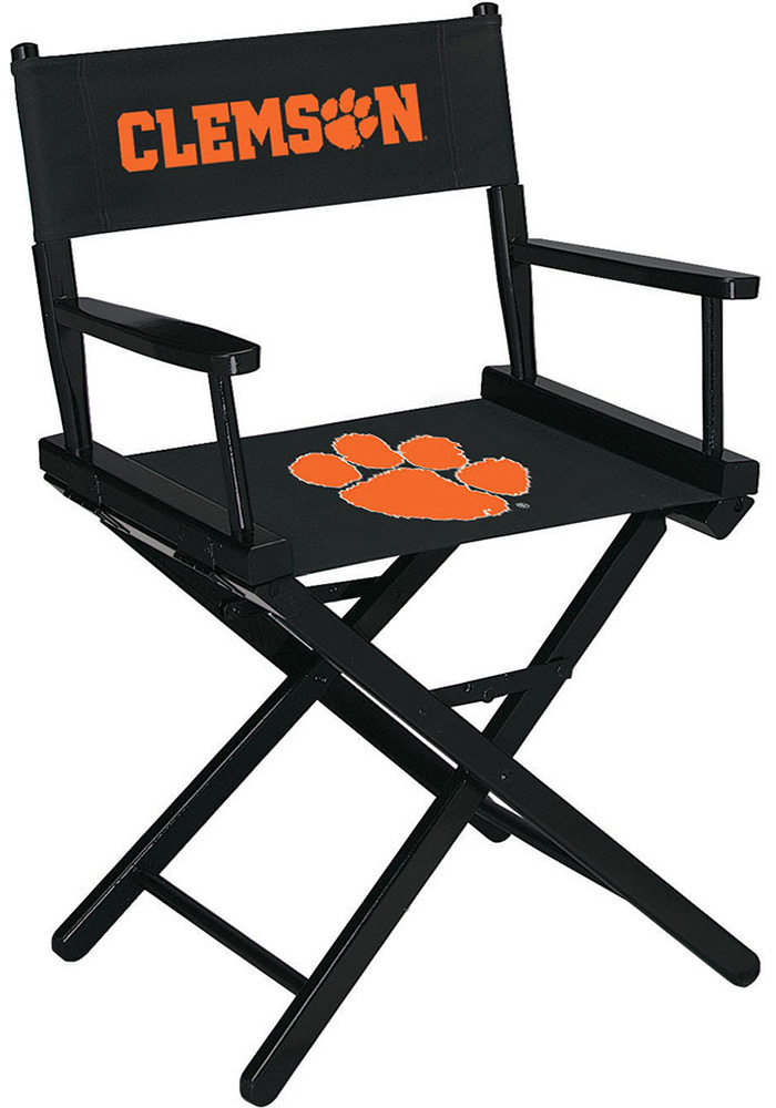 Clemson Tigers Table Height Director's Chair - Image 1