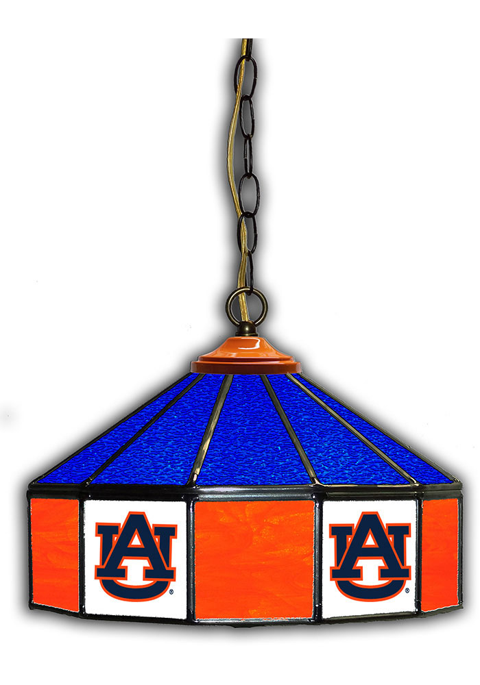 Auburn Tigers 14 Inch Stained Glass Pub Lamp - Image 1