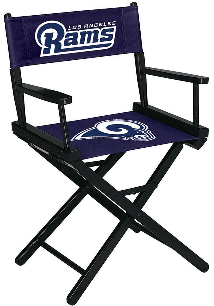 Los Angeles Rams Table Height Director's Chair - Image 1