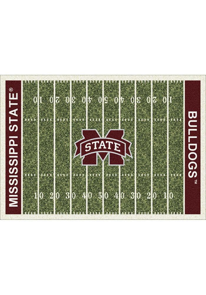 Mississippi State Bulldogs 7x10 Homefield Interior Rug - Image 1